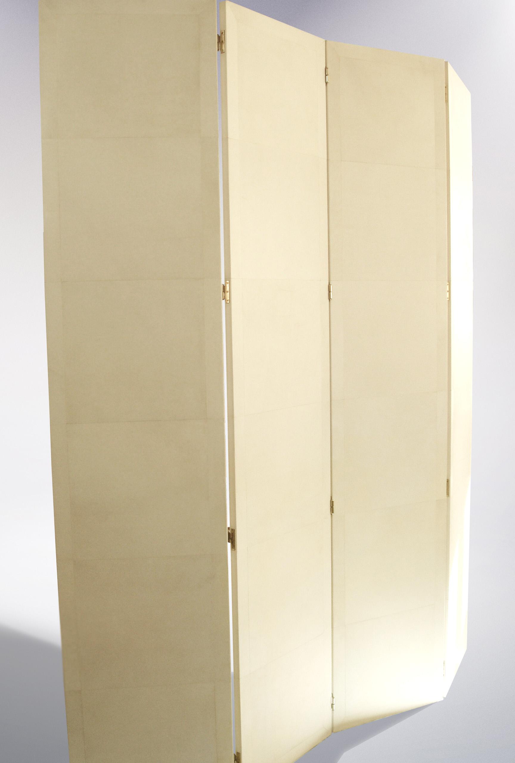 CSI Parchment Leather Screen