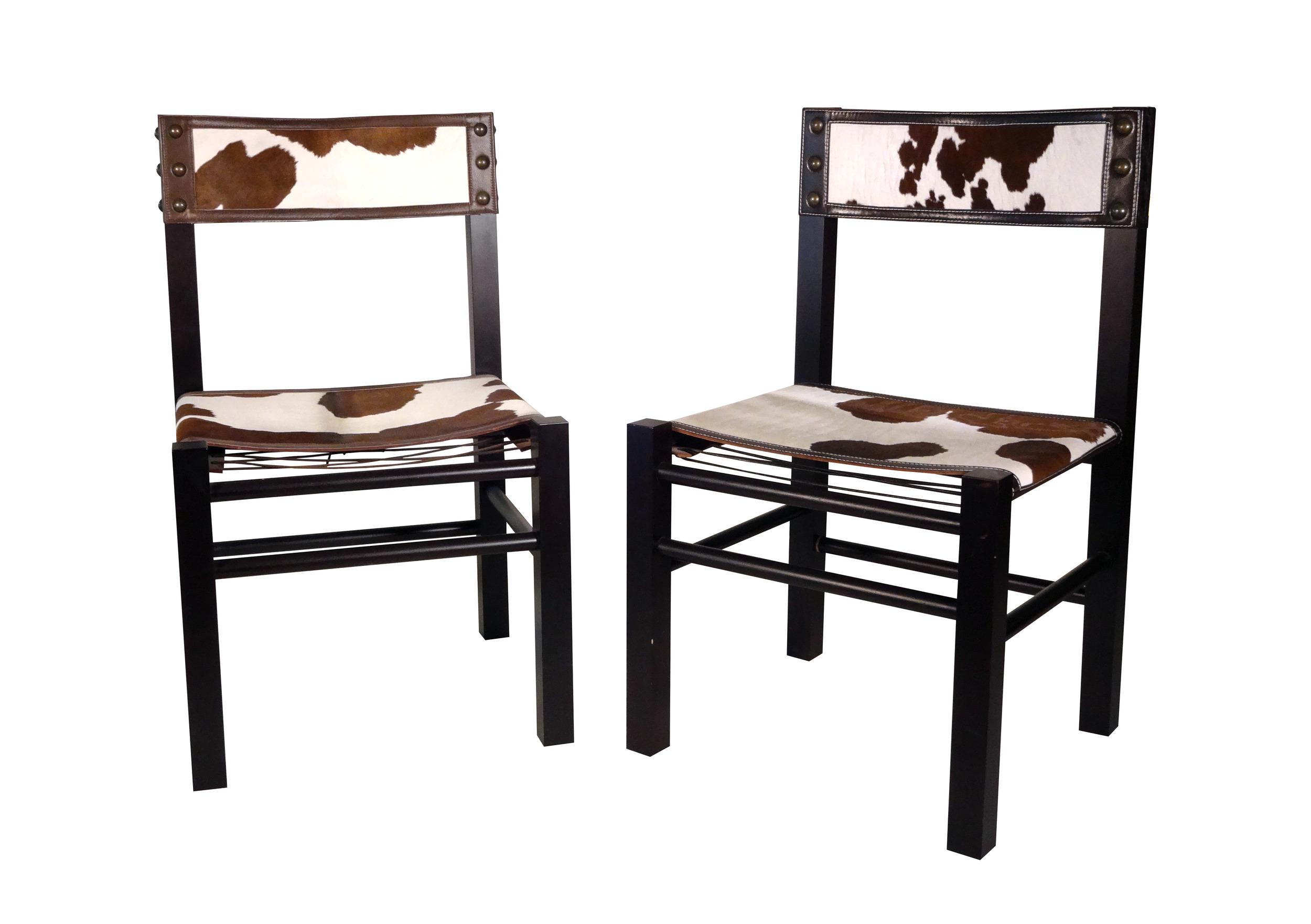 Calf Fur Chair