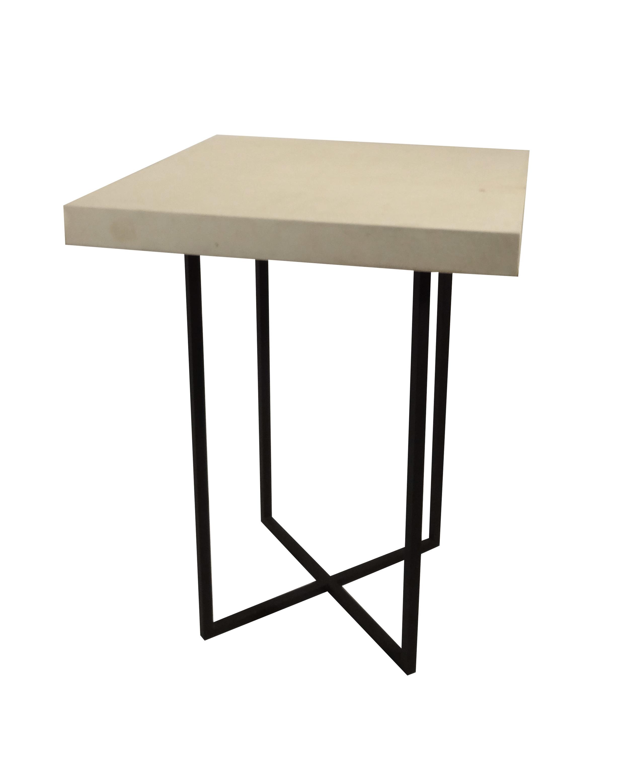 Parchment Side Table