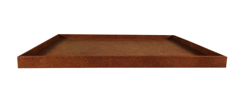Embossed Leather Tray