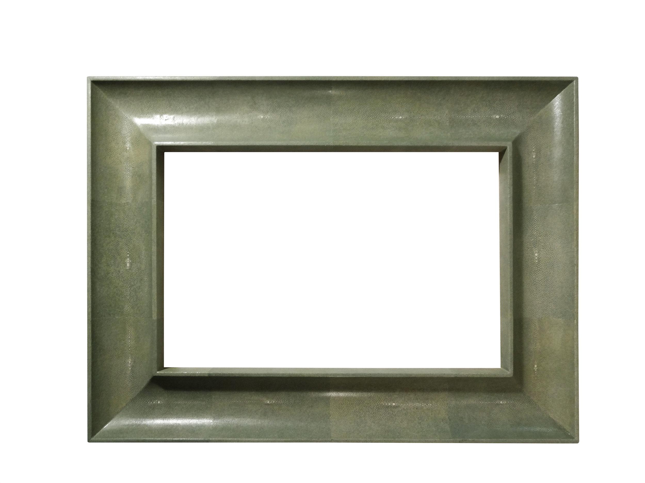 Shagreen Mirror Frame