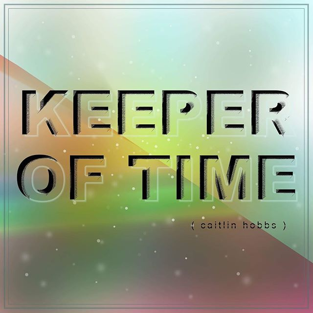 Comin' at ya sooner rather than later! In the meantime, checkout this badass cover designed by my best friend in band world, @incipiental! #KeeperofTime #ComingSoon