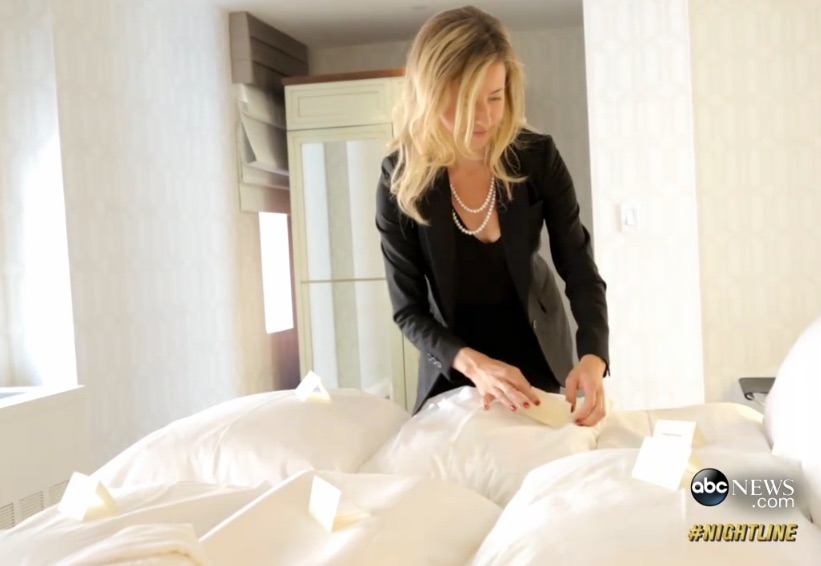 Watch Dr. Robbins and ABC Nightline anchor, Rebecca Jarvis, to learn how to find the perfect pillow.