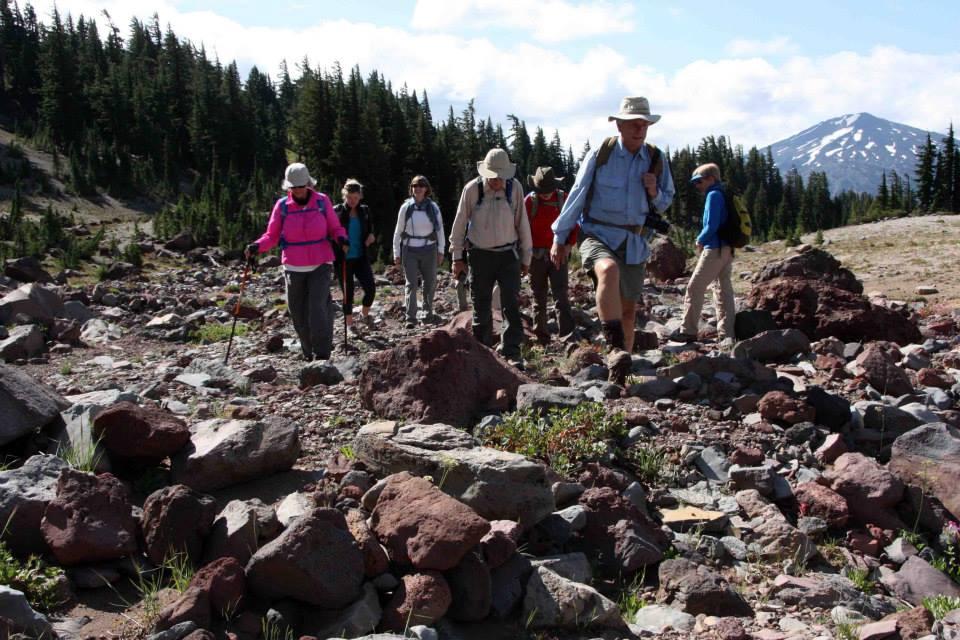 COLW   Hike  to No Name Lake with Stu Garrett in 2014