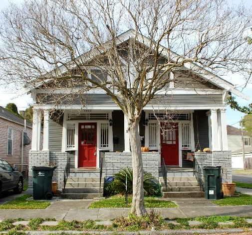 Duplexes can fit into neighborhoods well if designed with neighborhoods in mind