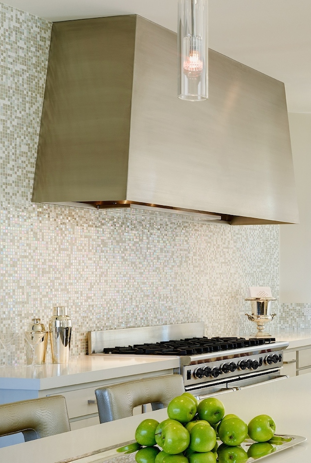 Special ingredient: Custom stainless hood with a high capacity plate and food warmer.