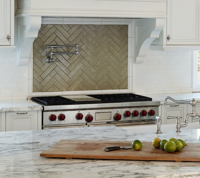 Special ingredient:    Rohl's   pot fillers are so convenient over your stove top for larger pots