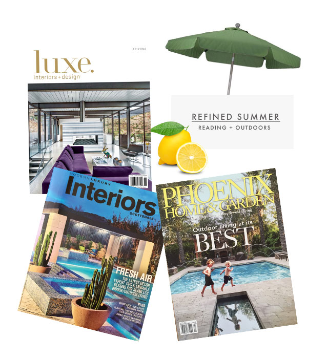 The Refined Group's first half of the year has been off to a busy but wonderful start.  Catch up on our recent publication by visiting our  PRESS page HERE .    Below you will find a few of our essential summer favorites...