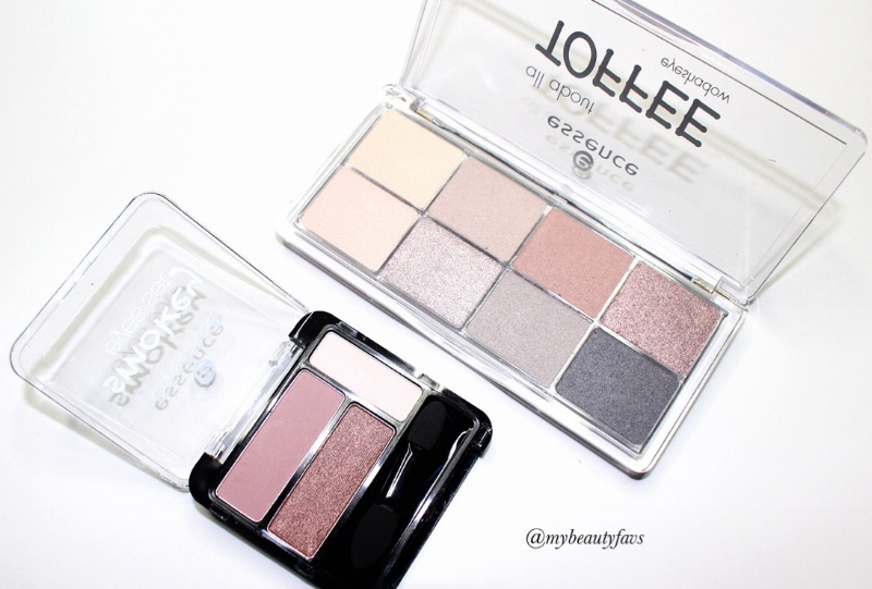 All about Eyeshadow Palette - Toffee and  Smokey Eyes Set