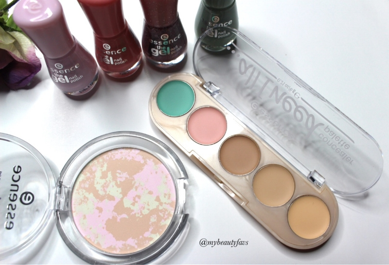 Colour Correcting Mattifying Powder, …All I Need Concealer Palette and The Gel Nail Polishes