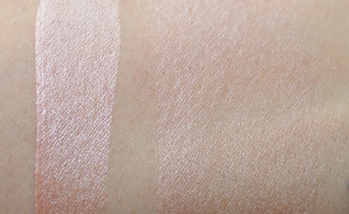 Soft Light #40 - Pink Copper: swatched and blended in