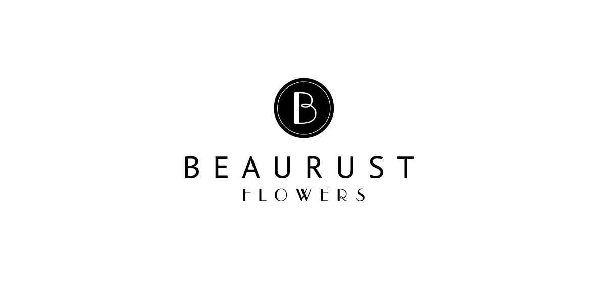 Doen Creative Logo design Beaurust Flowers
