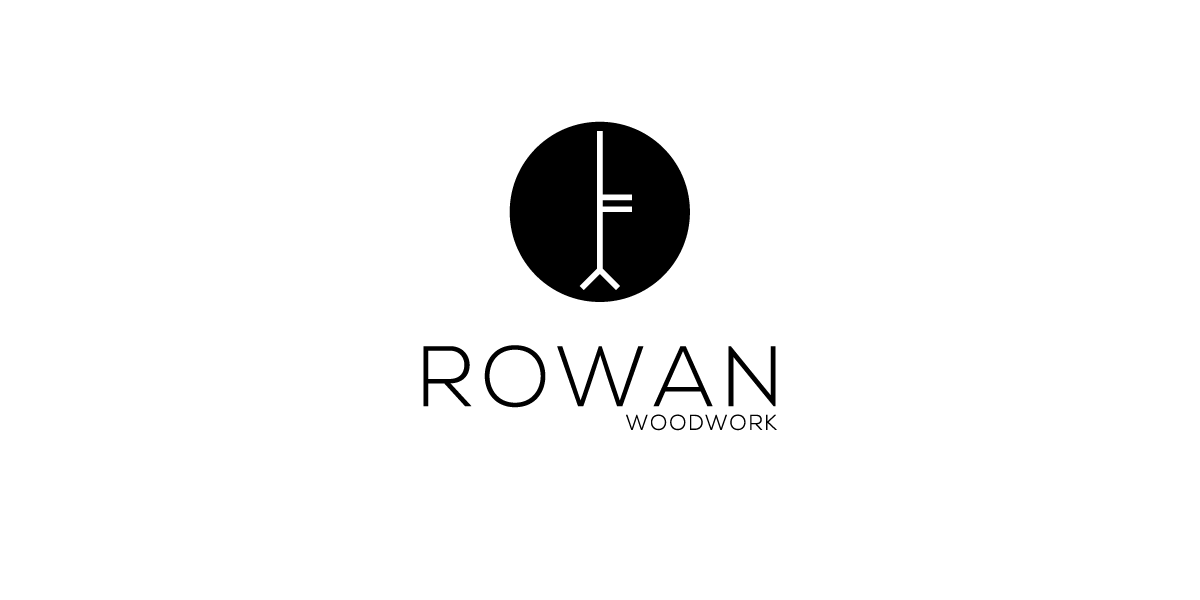 Doen Creative Logo design Rowan Woodwork