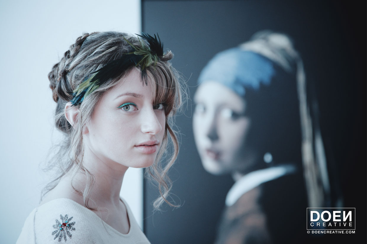 doencreative portrait photography  the girl with the pearl earring