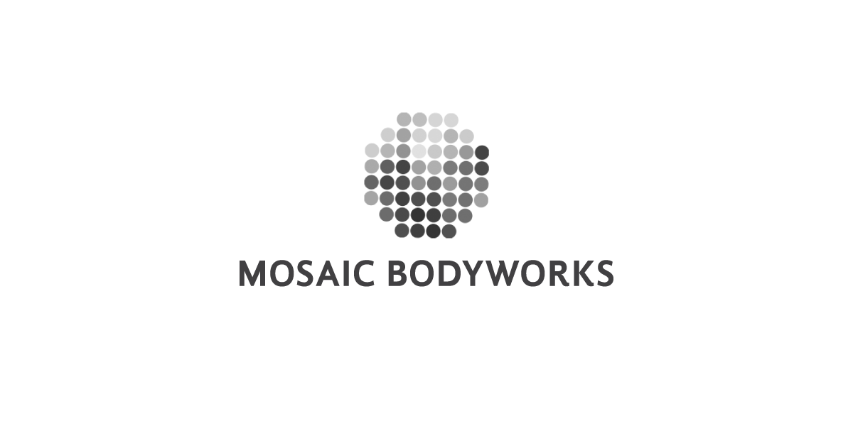 Copy of Doen Creative Logo design Mosaic Bodyworks