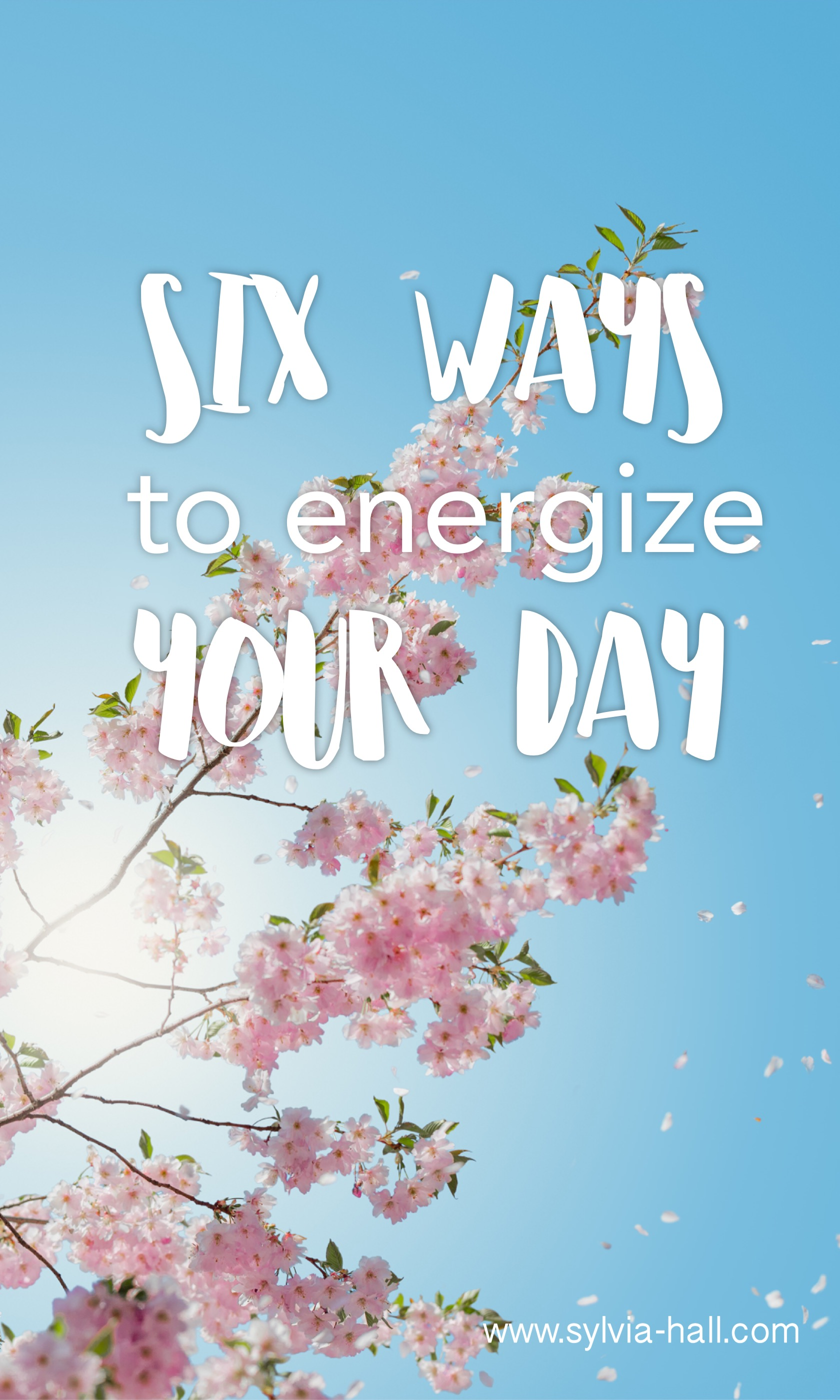 Six Ways To Energize Your Day - So many people talk about time management, but I think they might be missing the mark.  Sure. Time management is important. But the REAL problem is not how much time we have.