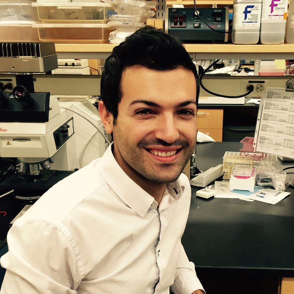 Ricardos Tabet, PhD - Post doctoral researcher