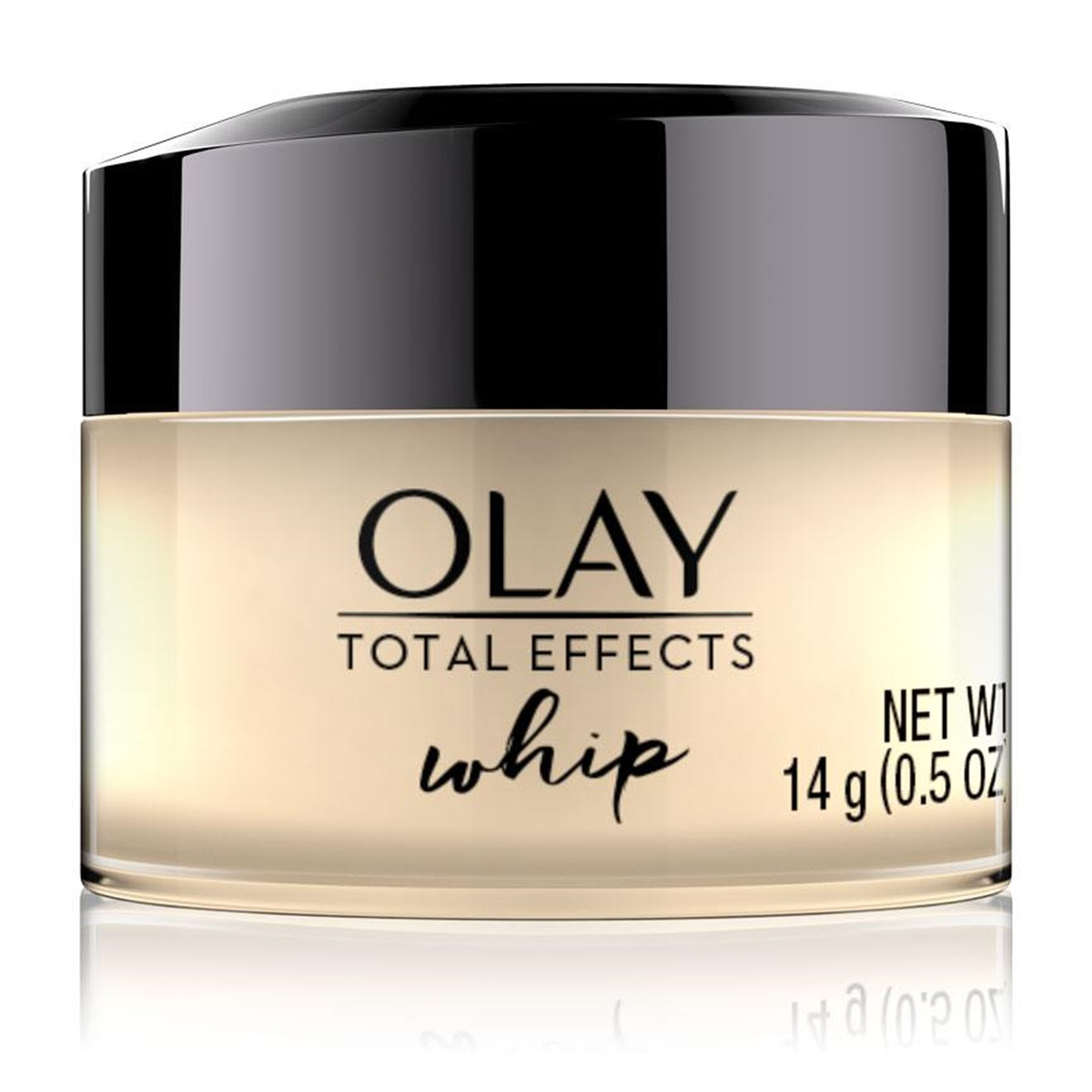 OLAY TOTAL EFFECTS WHIP FACE MOISTURIZER - Olay Total Effects Whip delivers ultimate nourishment without the weight. This breakthrough facial moisturizer transforms from cream to liquid on contact for fast absorption and a breathable feel.