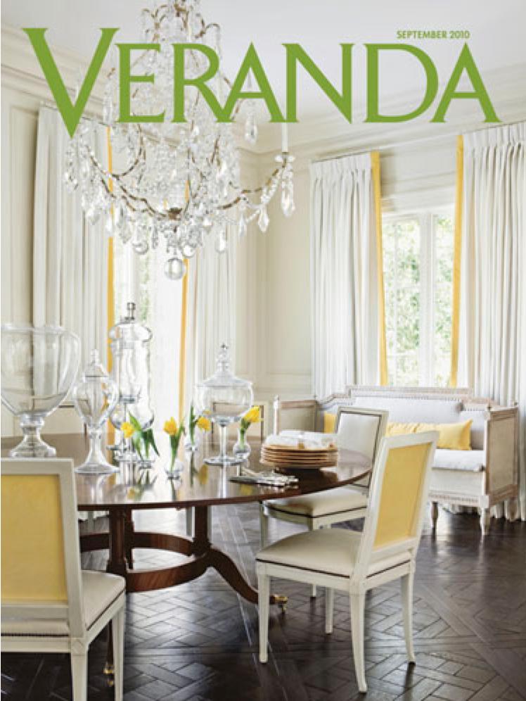Featured in the September 2010 issue of   Veranda   magazine.