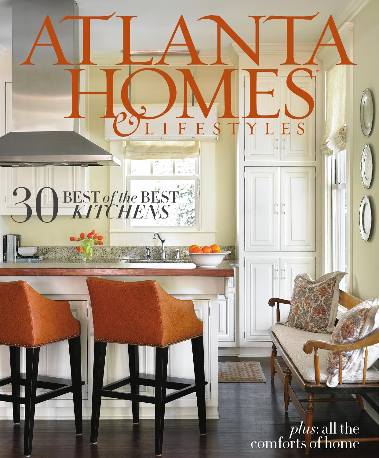 We're prominently featured in slide 22 of  Atlanta Homes & Lifestyles'  feature on  25 Years of the City's Best Kitchens .