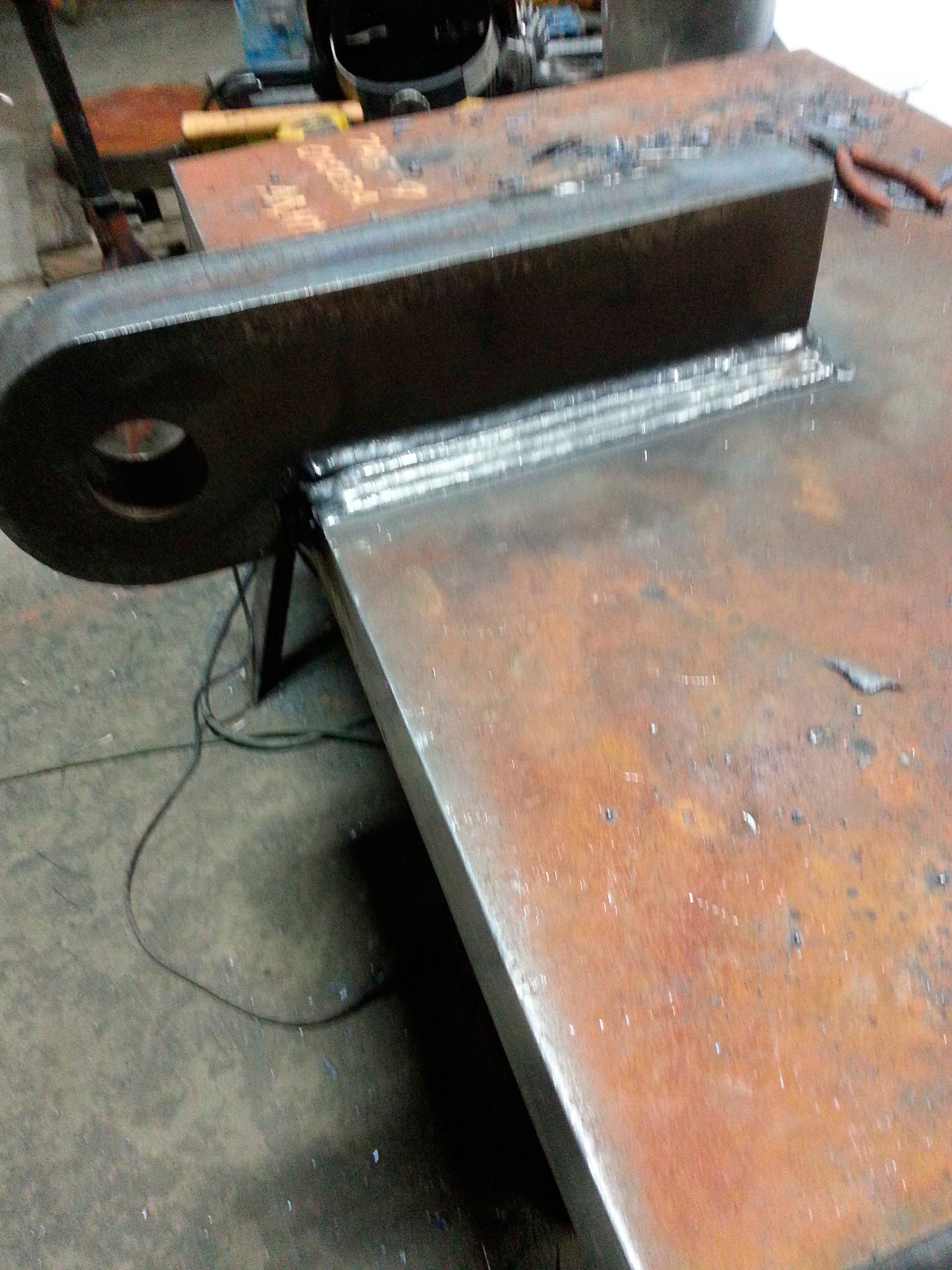 2-inch plate welding