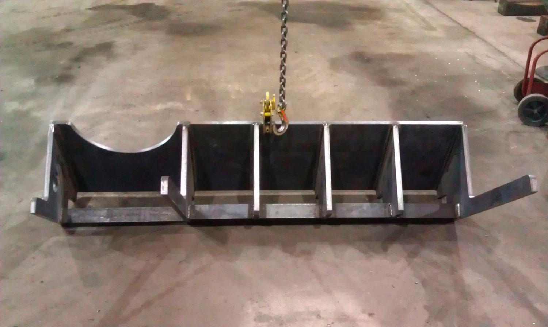 Bumper for a longwall shield hauler