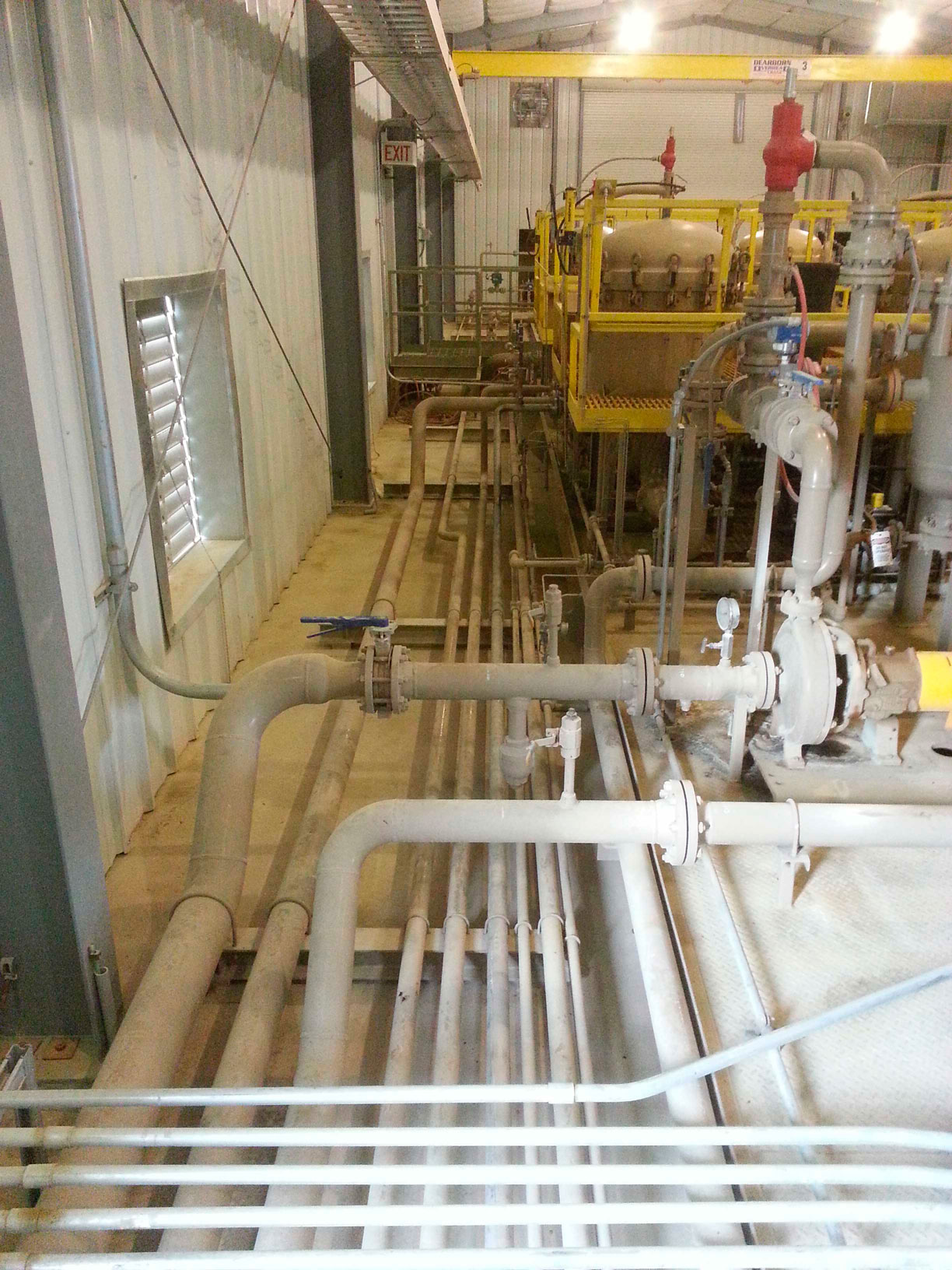 Newfield Ashley injection plant