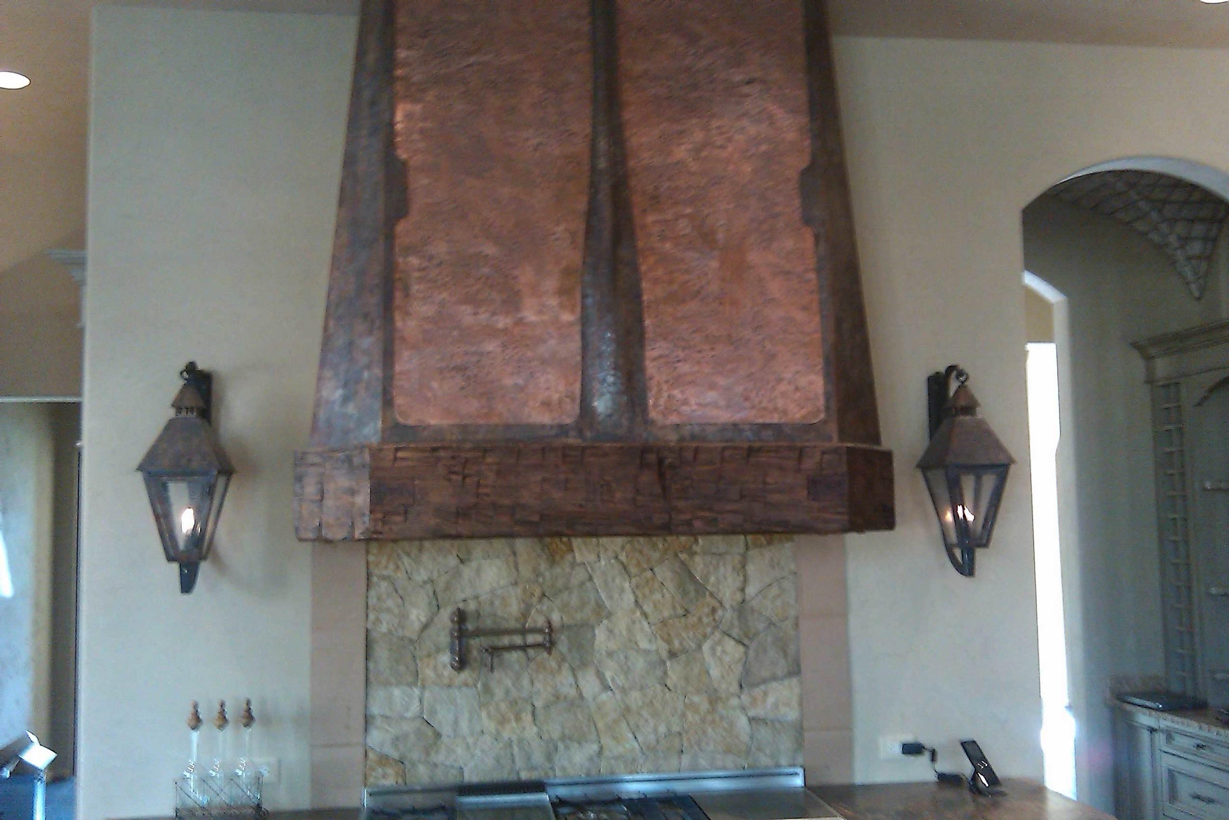 Alpharetta, GA. Copper hood.