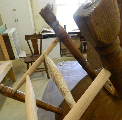 Raw spindles