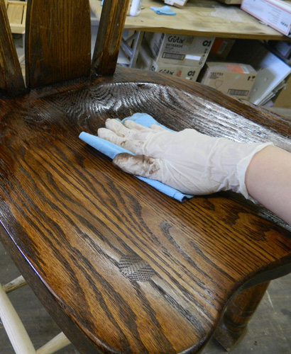 Staining process