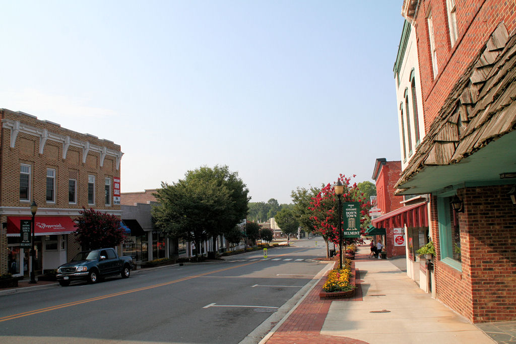 Historic downtown Belmont