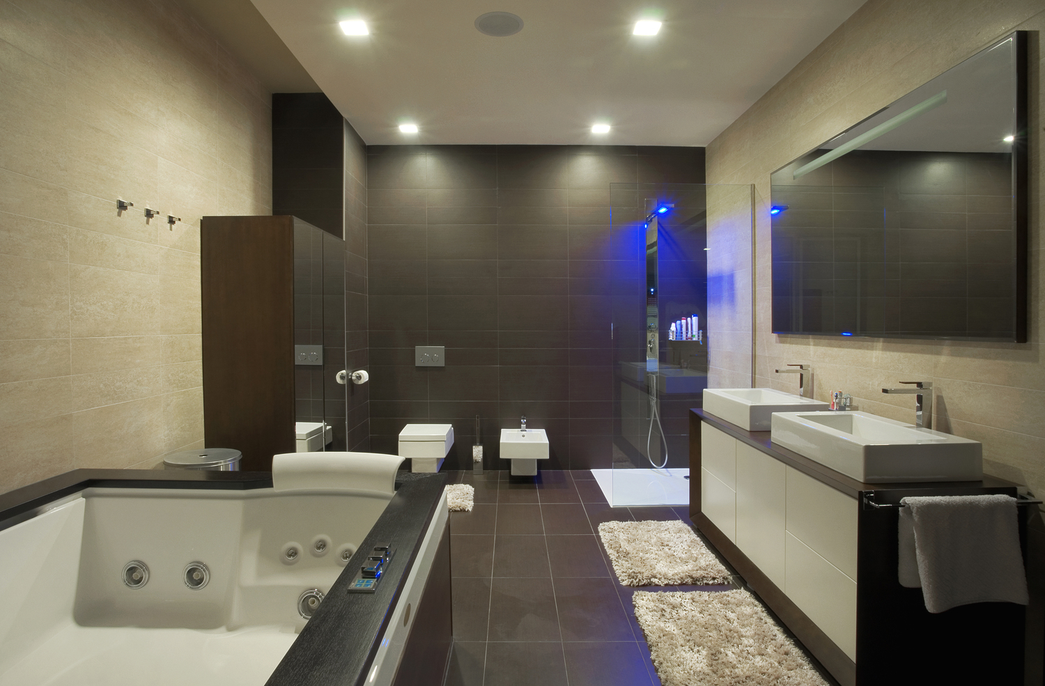 BATHROOM REMODELING - We use excellent quality bathroom fixtures along with other design elements that compliment your vision.