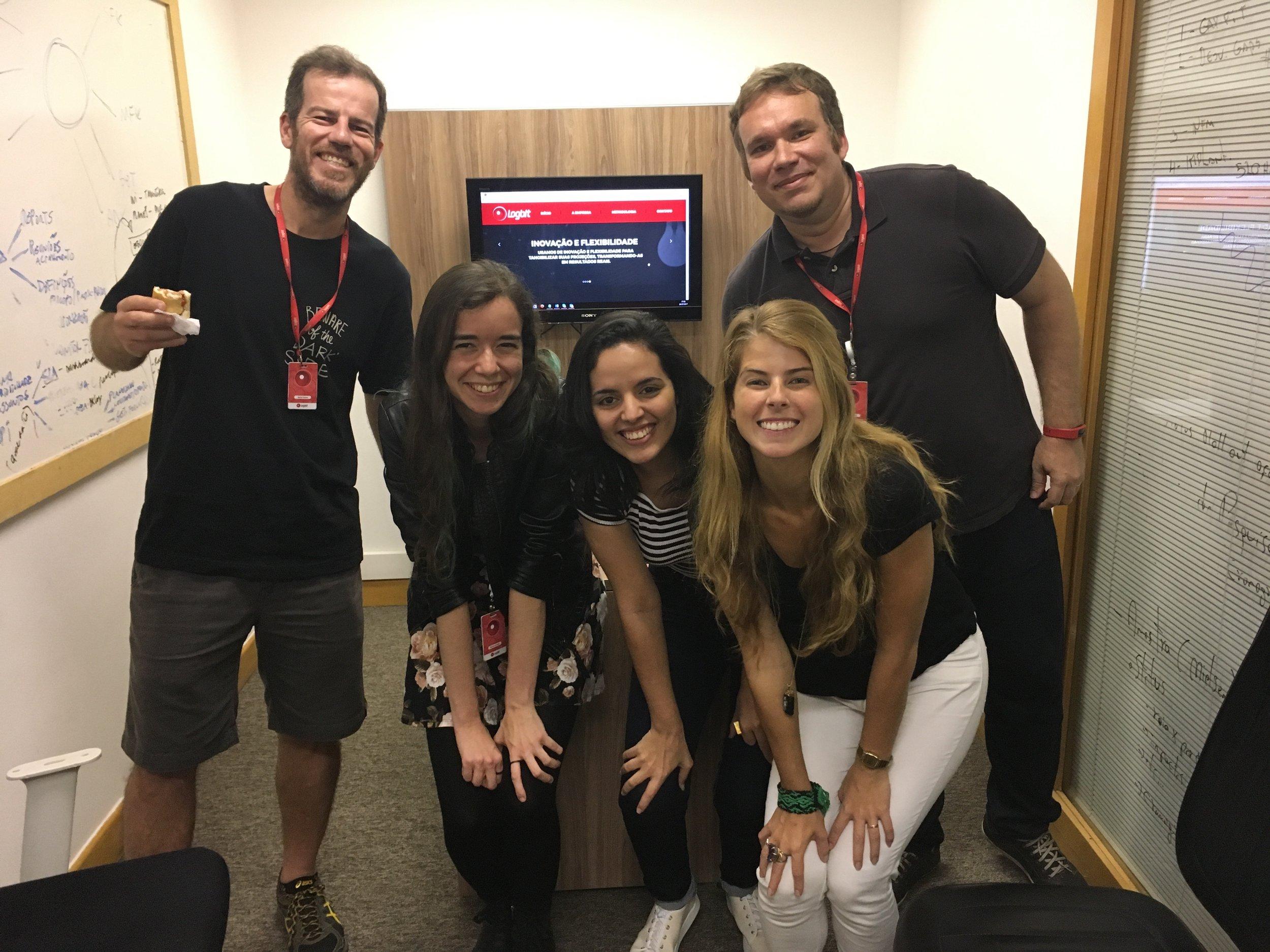 Agradeço a parceria do time da Logbit! Mais um projeto que conseguimos juntos colocar no mundo.