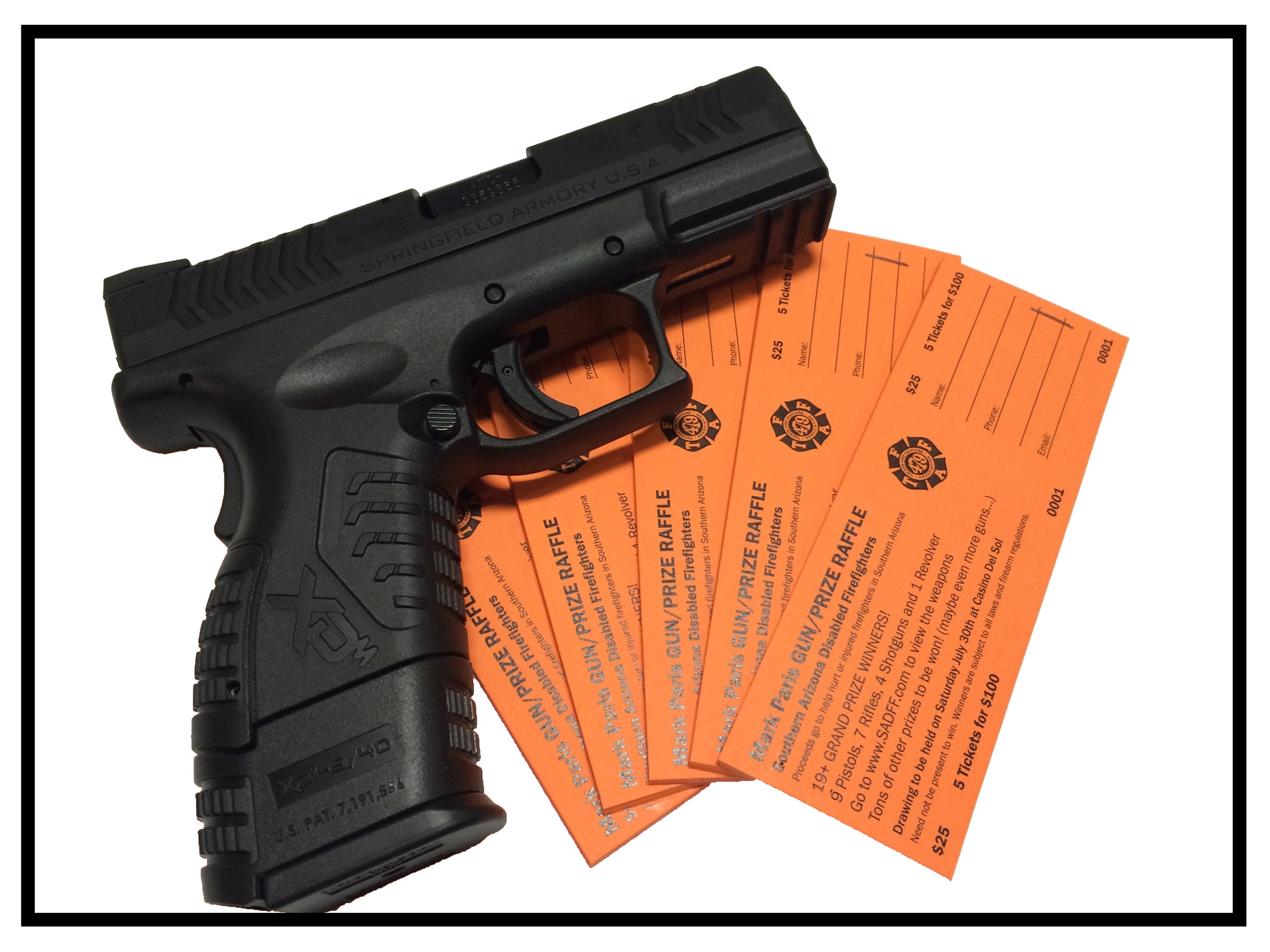 Click HERE to Purchase Gun Raffle Tickets.