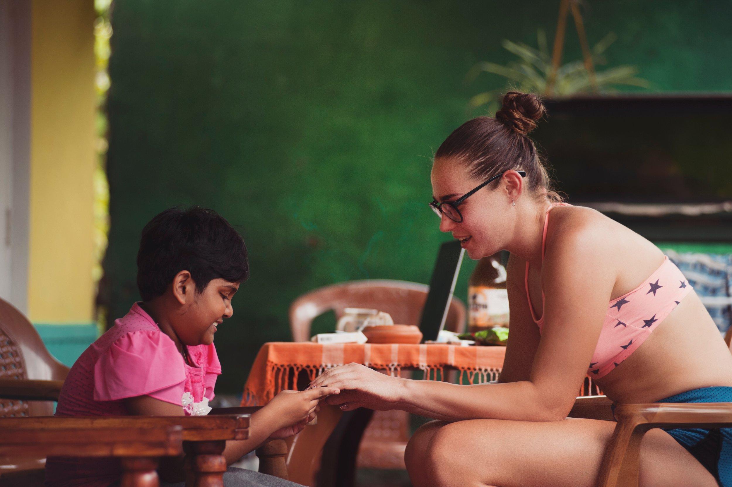 volunteer-working-with-child