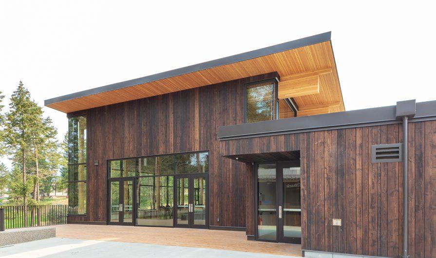 Radium Hot Springs Community Hall & Library.JPG