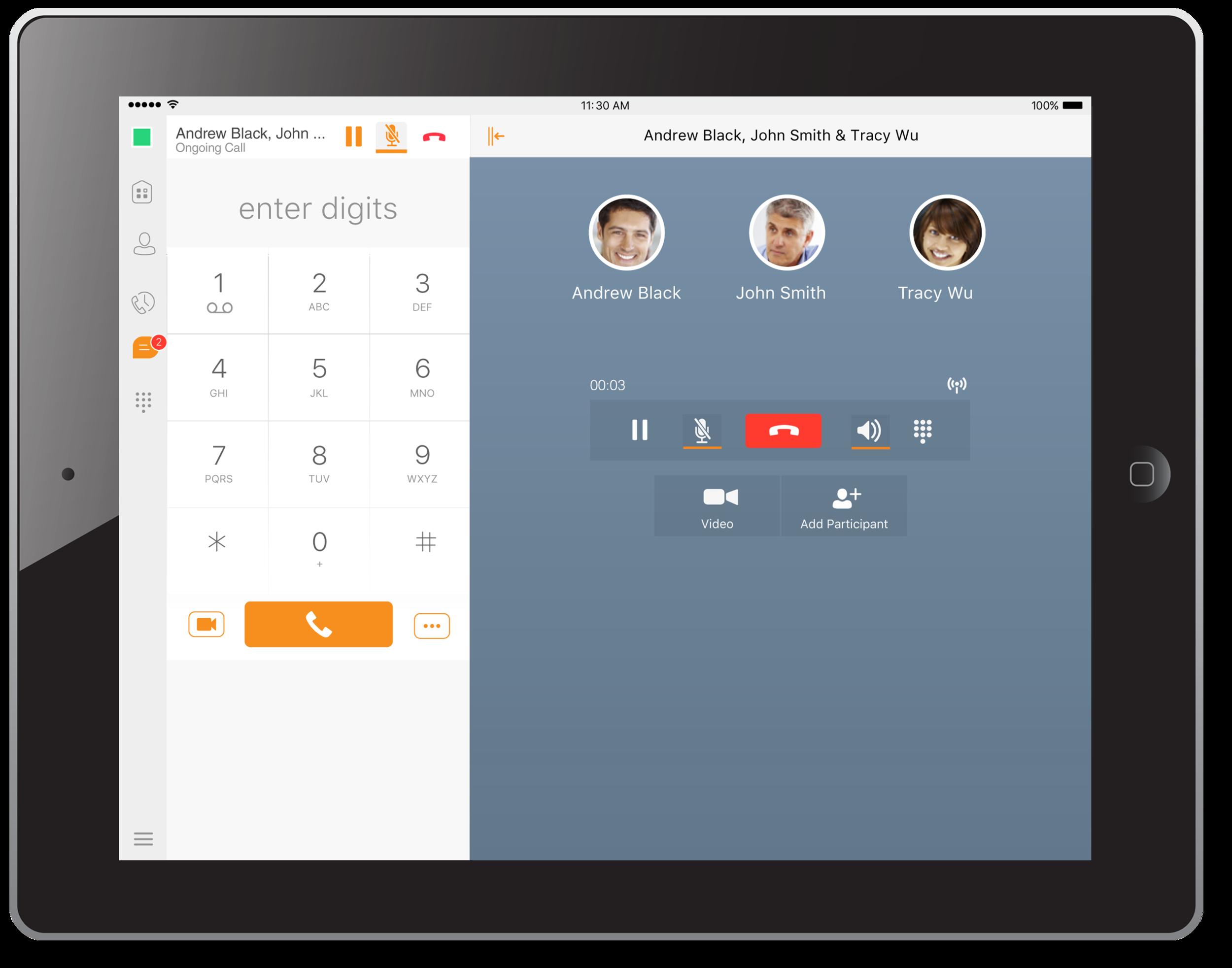 Communicator Tablet App