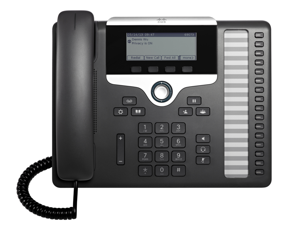 Cisco 7861 IP Phone with Multi-Platform Firmware — PeachComm