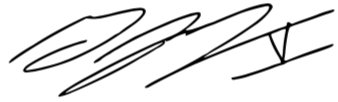 Signature of George Ferko.