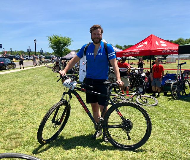 Finished another mountain bike race today. Also, learned Costco sells over 1.25 million hot dogs a year. Four times as much as all MLB stadiums combined. #challengermtb #mtb #mountainbiking