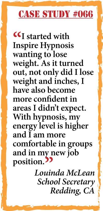inspire hypnosis case study #066.