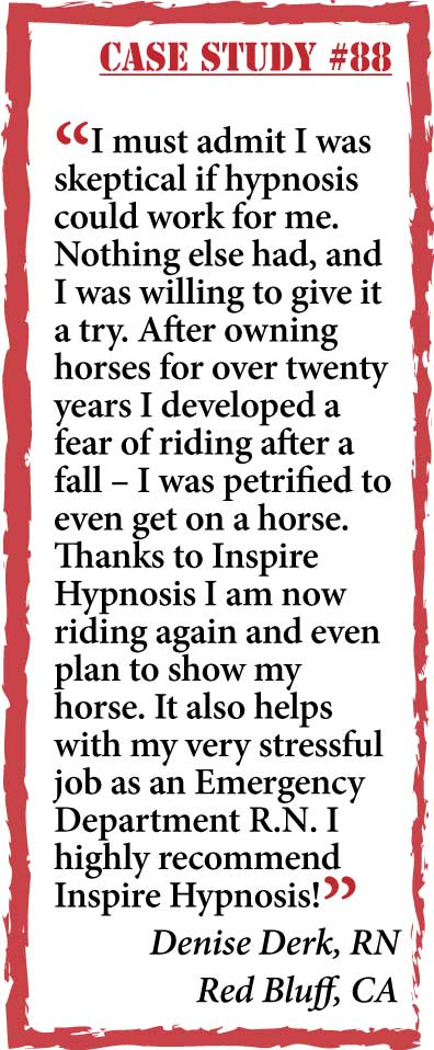 inspire hypnosis case study #88.