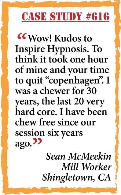 inspire hypnosis case study #616
