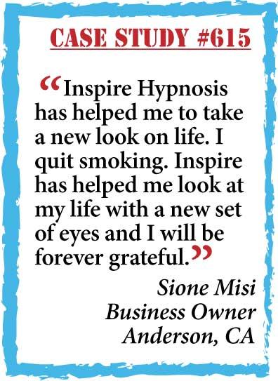 inspire hypnosis case study #615.