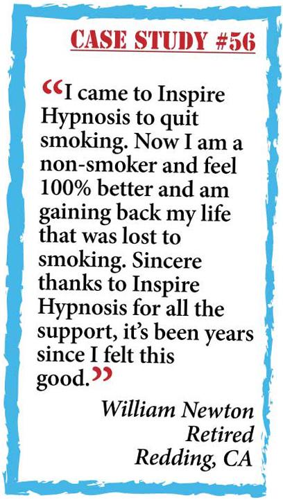 inspire hypnosis case study #56.
