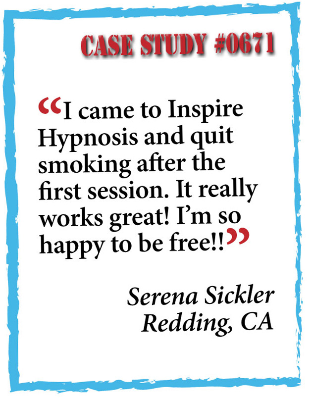 inspire hypnosis case study #0671.