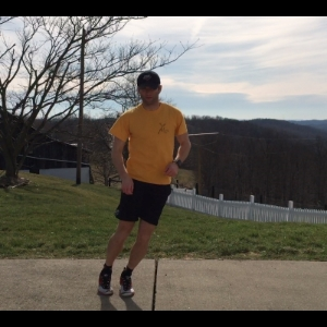 Lateral hops are a great plyometric Drill for many athletes