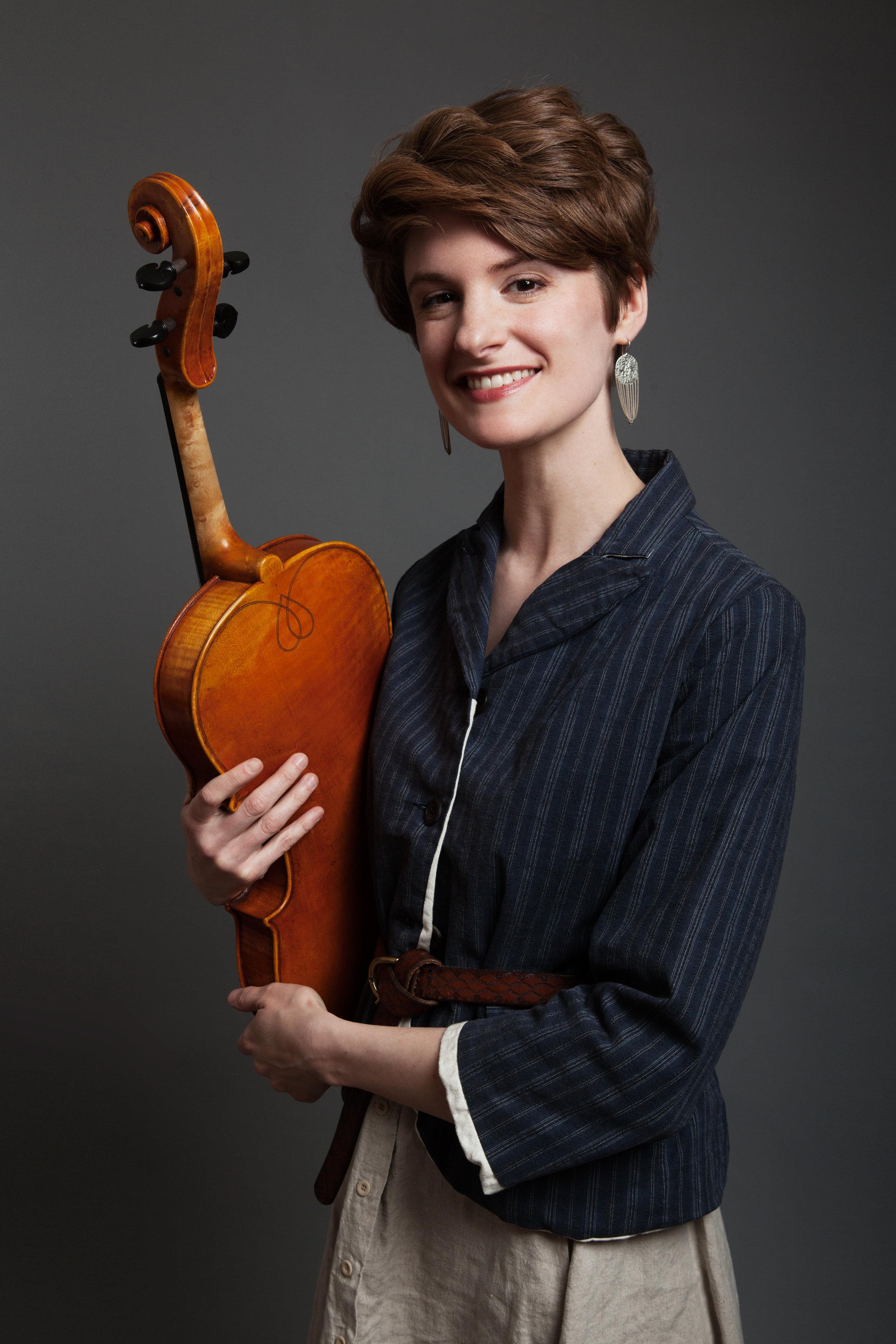 Sara Rossi, violin