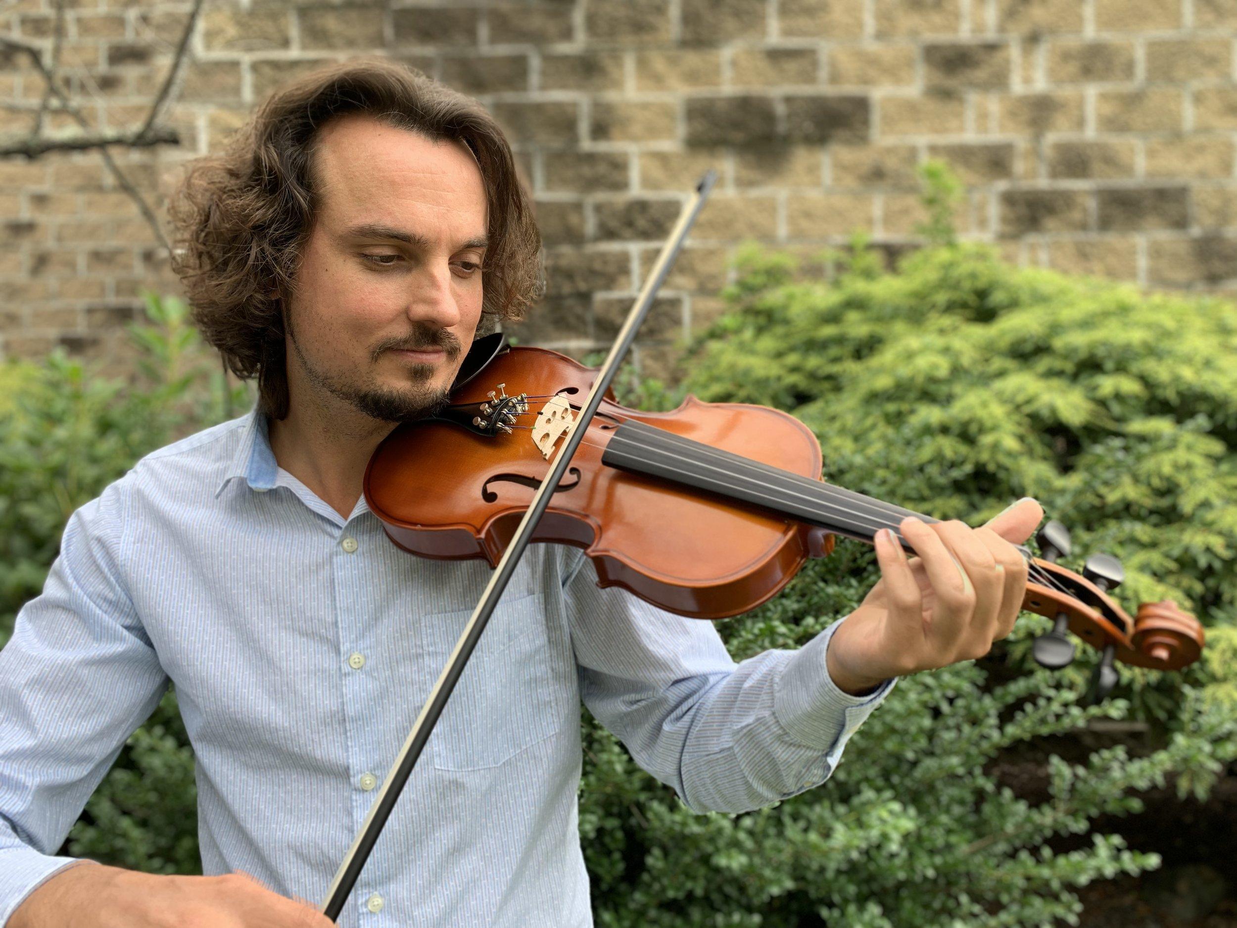 John Austin, violin