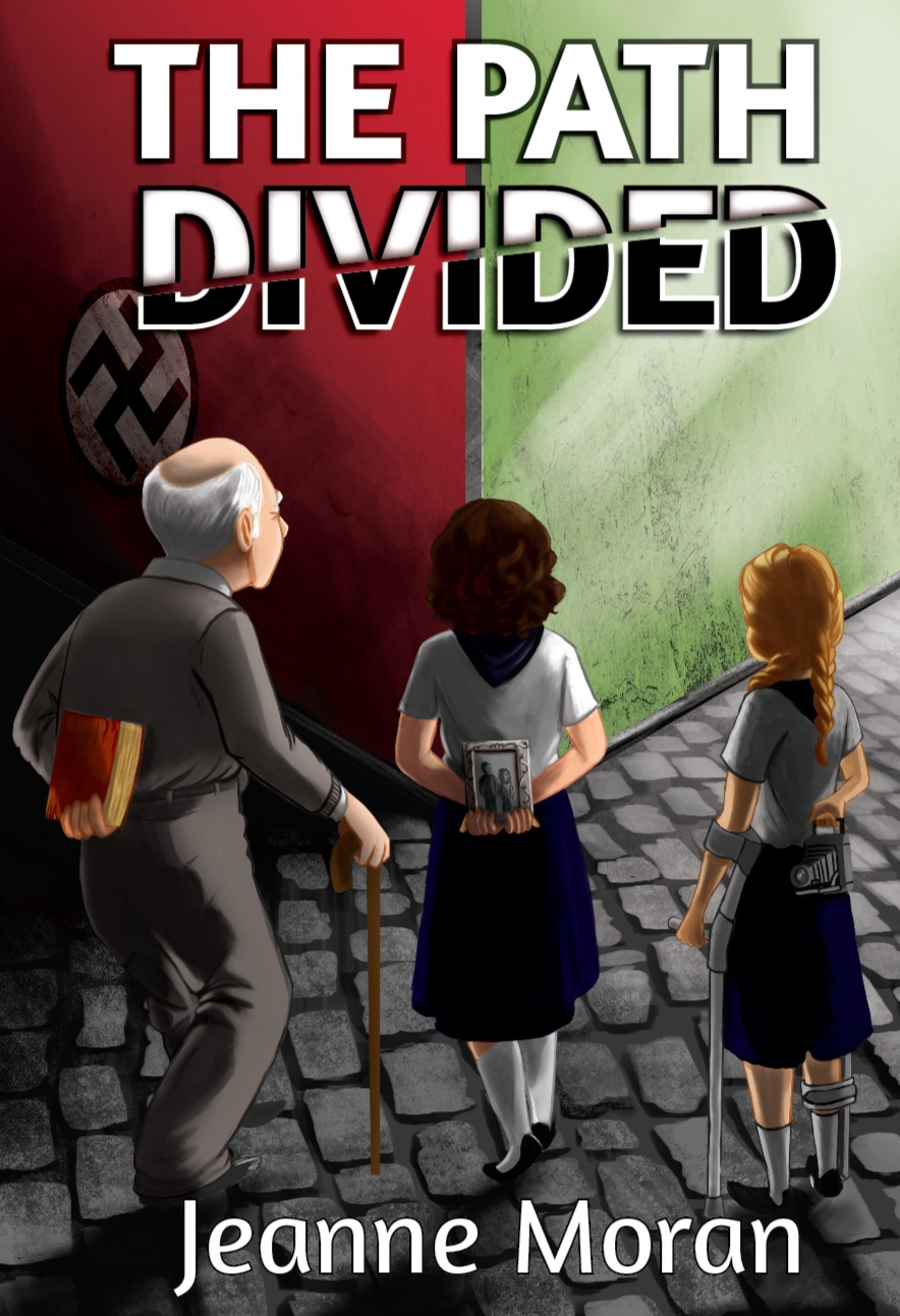 The Path Divided By Jeanne Moran. Click Image to be taken to Amazon page.